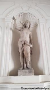Hofburg statues