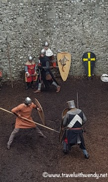 Knight re-enactments at Arundel