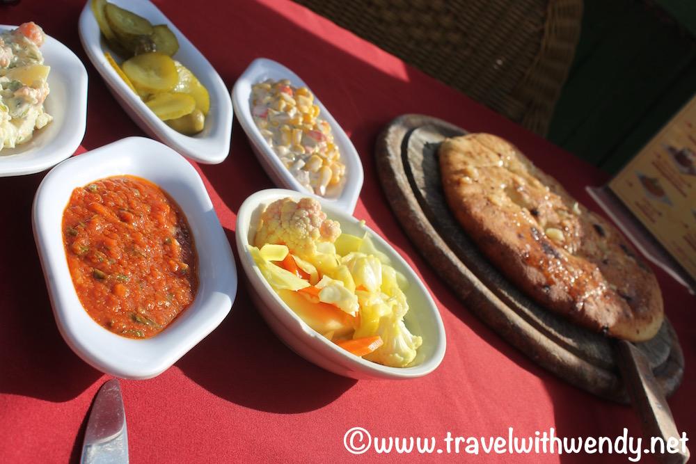 Appetizers - Gulf Restaurant - Eilat
