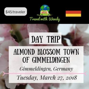 DAY TRIP - Almond Blossom Gimmeldingen