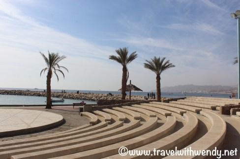 North Beach - amphitheatre along the water - Eilat, Israel