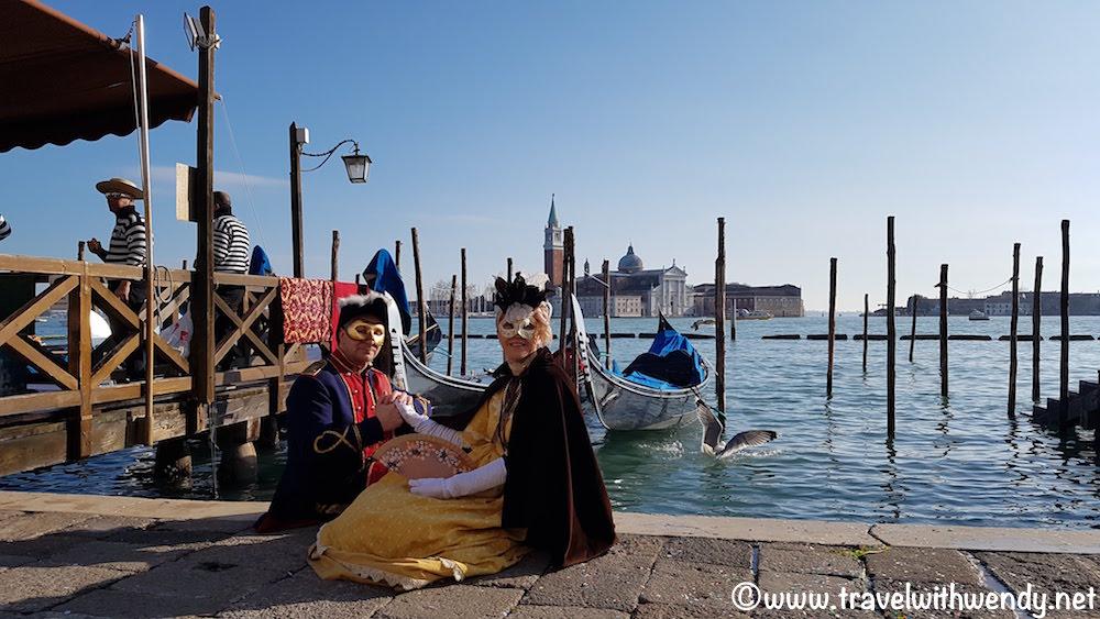 Beautiful views of Venice!