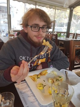 Fried Calamari & Chris