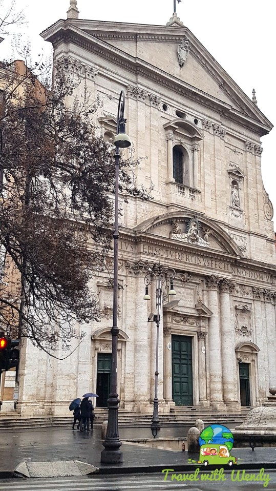 Architectural beauties around Rome