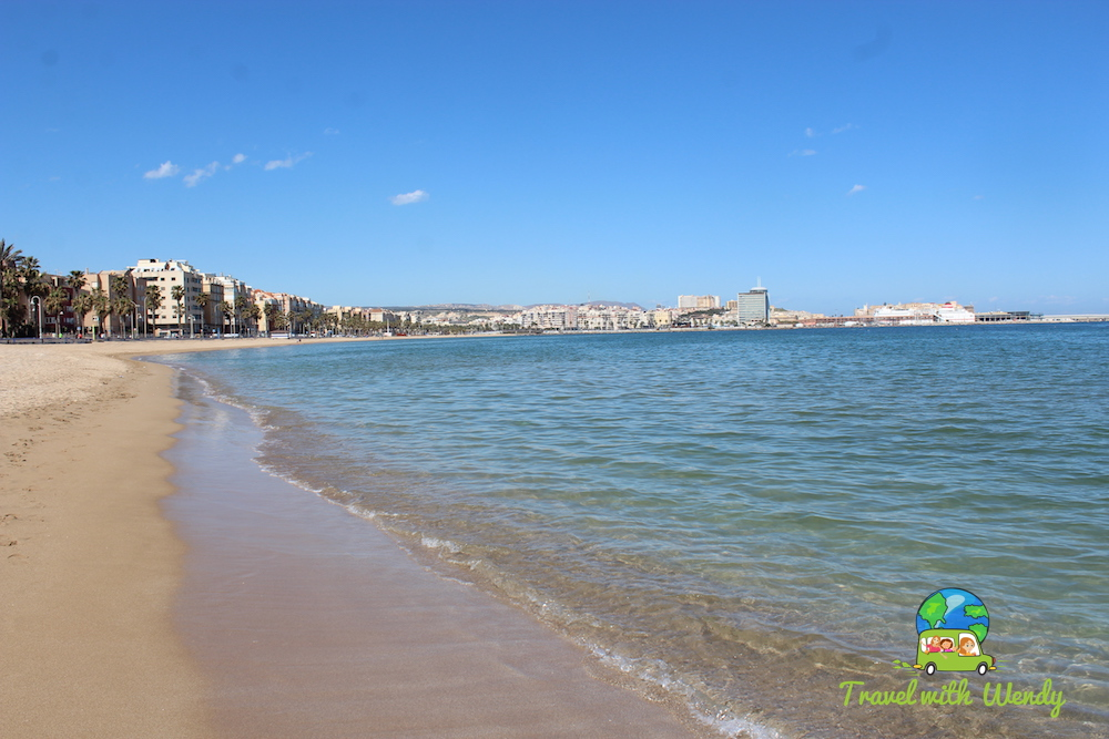 Beach at Melilla