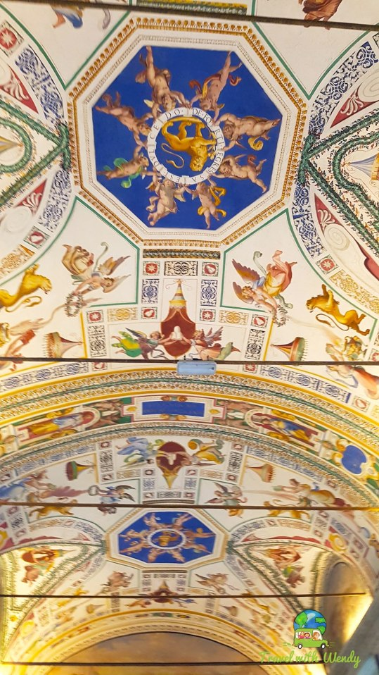 Ceiling in the Vatican