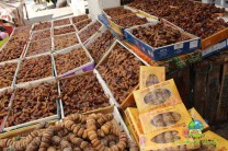 Figs and dates at the Souk