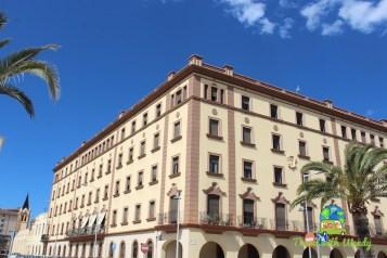 Govenrment buildings around Melilla