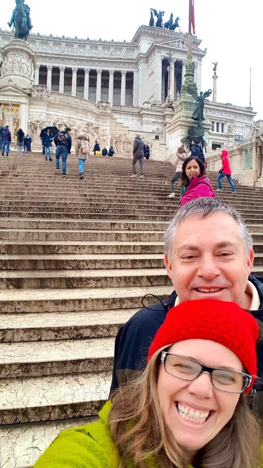 Having fun in the Venezia Piazza