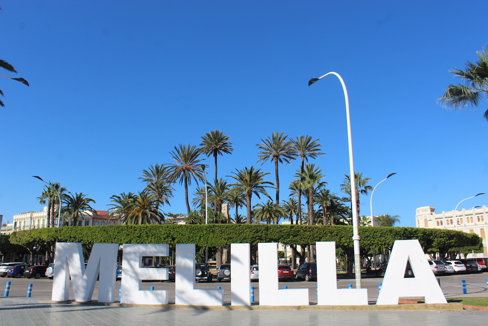 Melilla sign