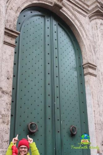 Perspective Italian doors