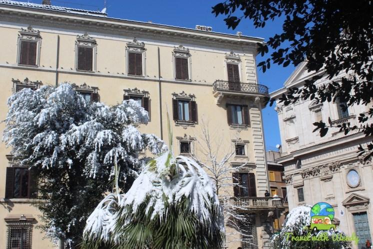 Snow in the Jewish Quarter
