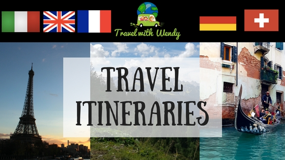 Travel with Wendy Itinerary