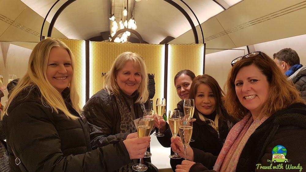 Cheers, Champagne toasts