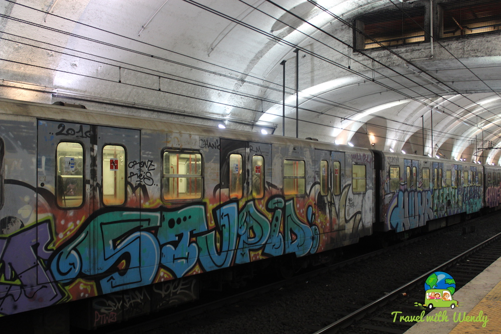 Trains in Rome