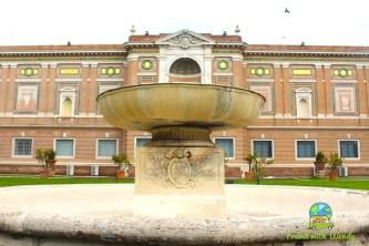 Vatican courtyards
