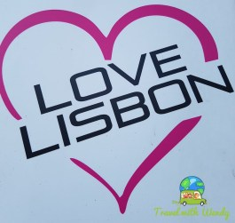 I love Lisbon sign