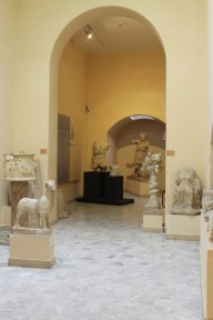 Statues and small museum