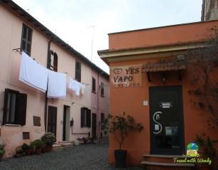 Streets of Ostia Antica