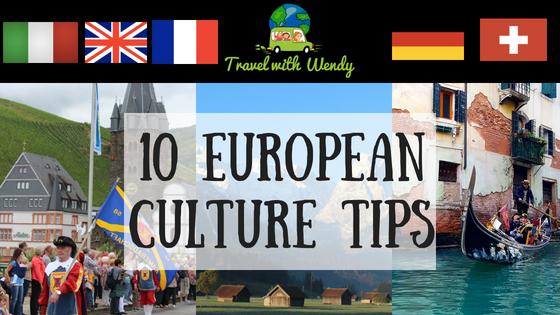 10 European Culture Tips