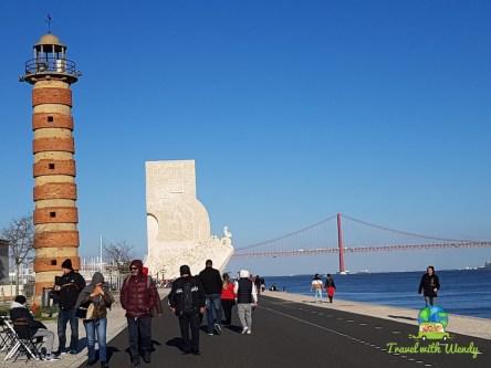 Beautiful sunny weather in Lisbon