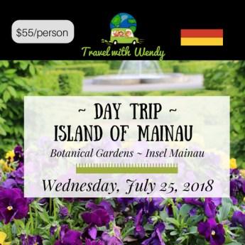 DAY TRIP - Island of Mainau - JULY 2018