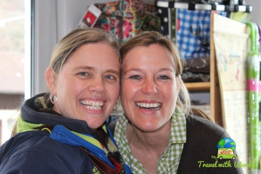 Marion and me - making friends in Germany