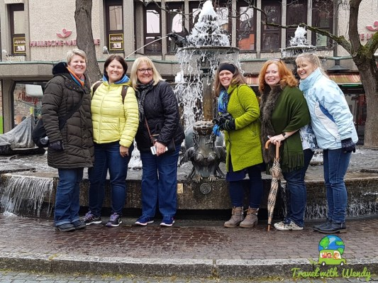 Visiting German Towns - touring together
