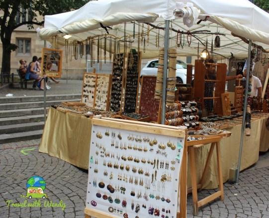 Flea market finds in Stuttgart