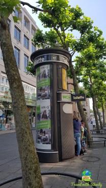 Suprising toilets in Konigstrasse