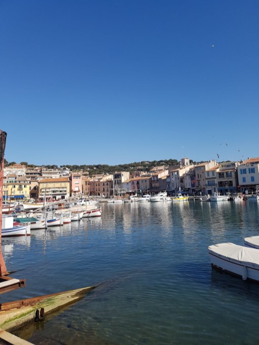 Views of the harbor on the Riviera