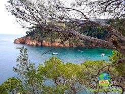 Catalonia - Begur and sailboats