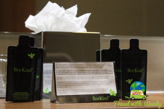 Deluxe Accommodations ~ Edinburgh Eco friendly products in our bathroom