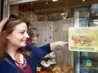 Eva explains the yummy pastries