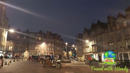 Accommodations - Grass market in Edinburgh