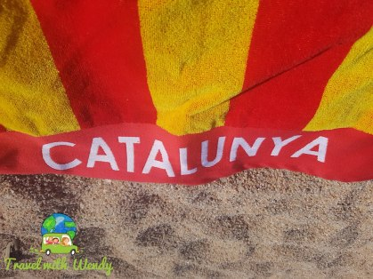 My Catalunya Towel!!