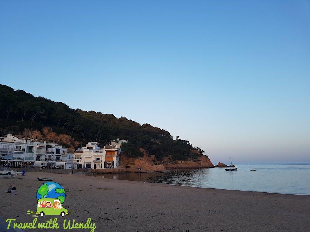 Our beach at Tamariu - Catalonia