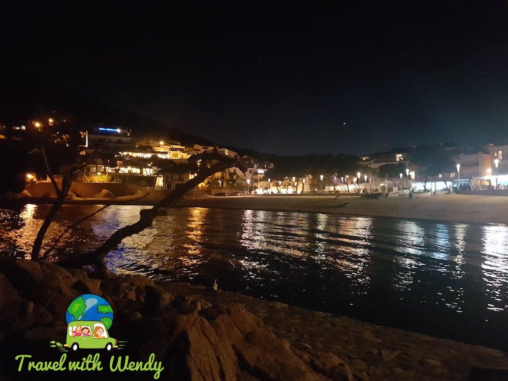 Tamariu at night - Costa Brava