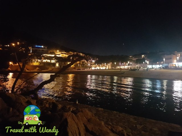 Tamariu at night - Costa Brava