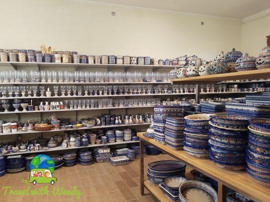 Andy's showroom