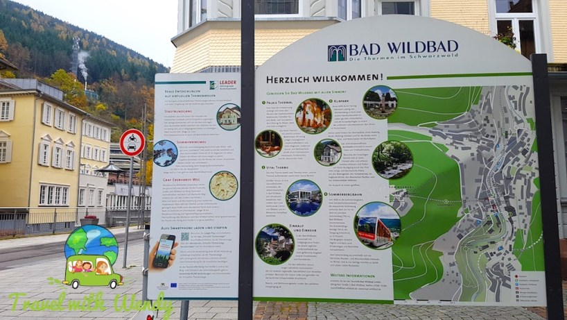 Bad Wildbad - town Welcome