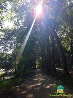 Beautiful paths around Kromlau