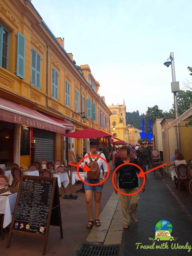 Didn't feel safe in Nice