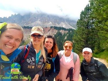 Dolomites Hike - touring