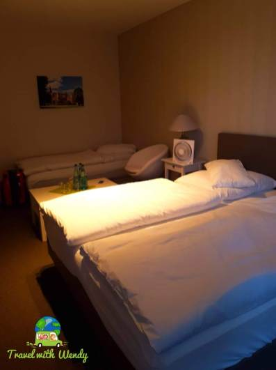 Our business package included 4 beds with plenty of space - Poland