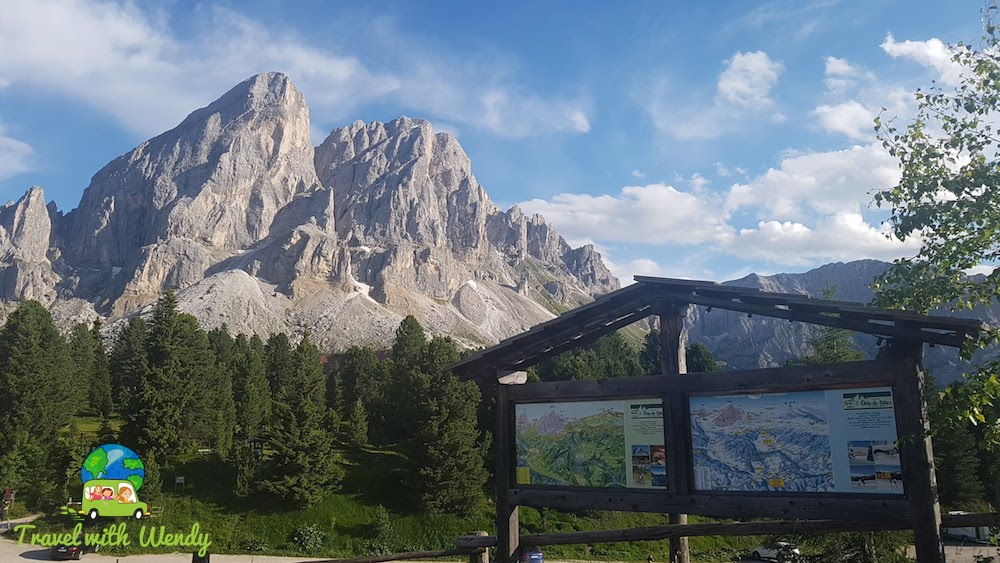 Trail head San Martino de Tor
