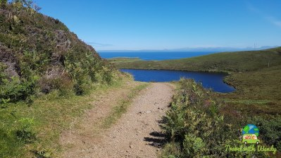 Nice hiking trails to the sea