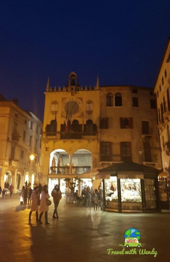 Beautiful Italy at night
