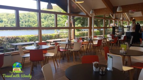 Cruachan dining room - great views