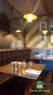 Dining room - Kilchrenan - Scotland